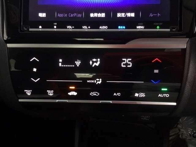 プラズマクラスター技術搭載のオートエアコン装備で、車内の温度や湿度に加え、空気まで快適にお乗り頂けます。