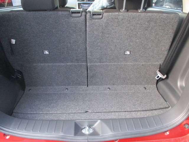 軽自動車サイズでも、今やラゲッジスペースの充実は当たり前です。本当に重宝しますよ。たくさん荷物を詰めて便利です、。是非、お試しください。