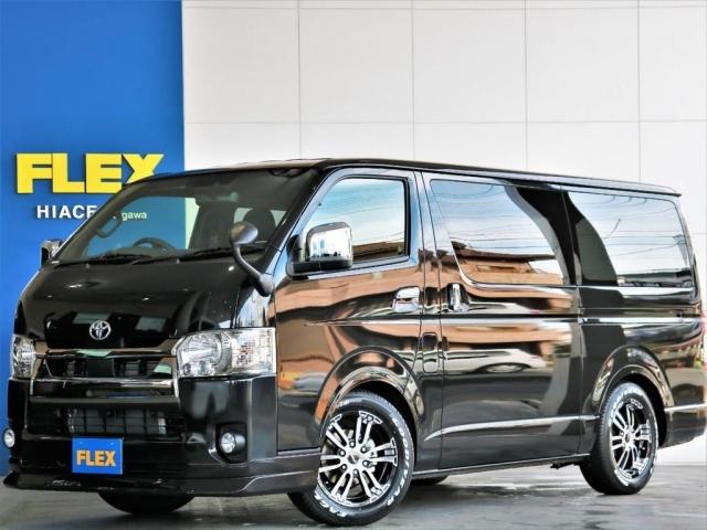 新車 ハイエースS-GLダークプライムII ガソリン2WD このまま乗り出せちゃうスタンダードなパッケージです!!