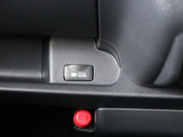 メーカーオプションの100V AC電源装備☆
