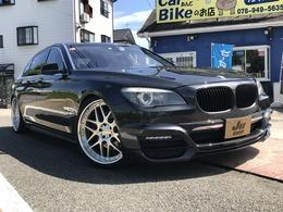 BMW 7シリーズ 750Li リアエンターテインメント/左ハンドル
