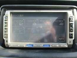 純正HDDナビ(VXH-092CV)です。DVD/CD再生のほかにもワンセグTV、ミュージックサーバーも装備されとっても便利です!