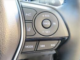 レーダークルコン装備で、安全装備も充実。