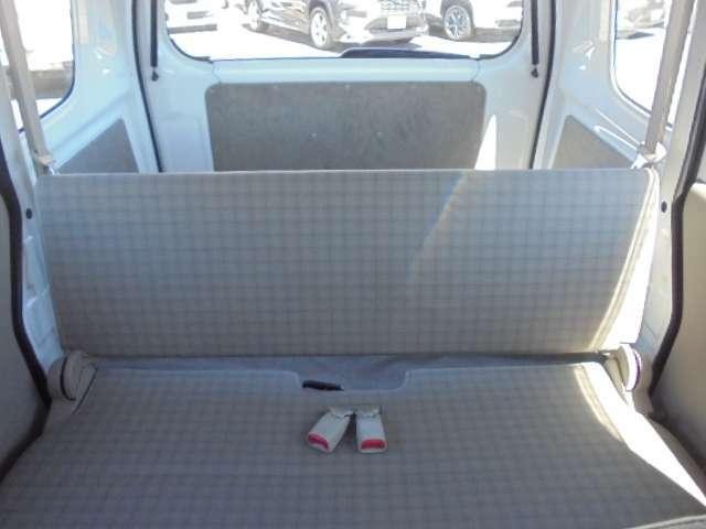 後部座席を前から観た画像になります♪