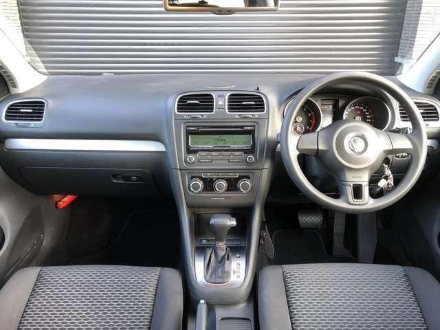 ☆シンプルで操作性が高い運転席まわりのデザインです☆天井の垂れも無くきれいです♪