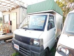 三菱 ミニキャブトラック 660 TD 幌付き