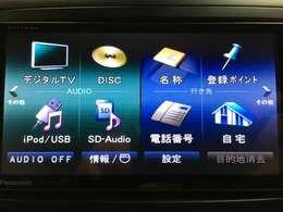 ストラーダナビ(CN-S300WD)(AM/FM/Bluetooth/USB/MusicServer/フルセグ)