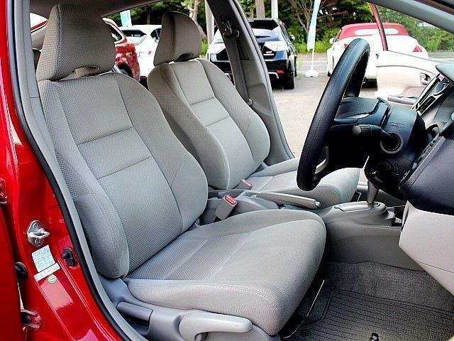運転席、助手席シート♪シートは目立つようなダメージもなく、とても綺麗な状態です♪