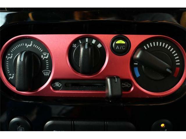 手動操作で快適に車内温度をコントロールします。