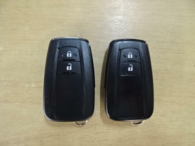 ●スマートキー●カギを持っているだけでドアの開け閉めからエンジンスタートまで簡単にできるインテリジェントキー♪