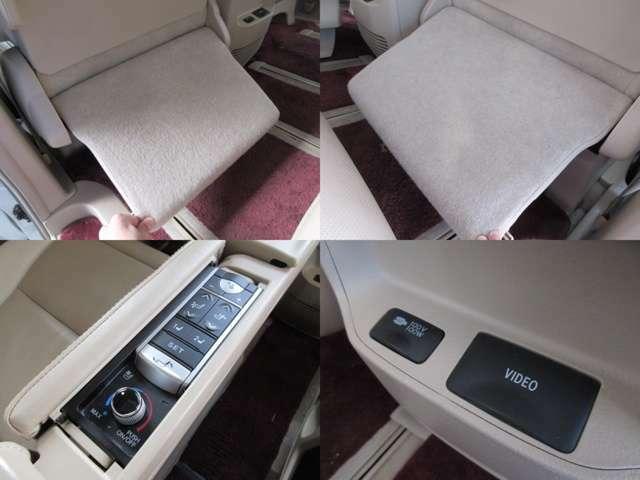 プレミアム専用後席コントローラー付で、シートコンディションの調整が可能となります♪