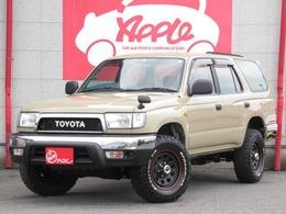 トヨタ ハイラックスサーフ 2.7 SSR-X Vセレクション 4WD ベージュペイント 新品タイヤ&ホイール