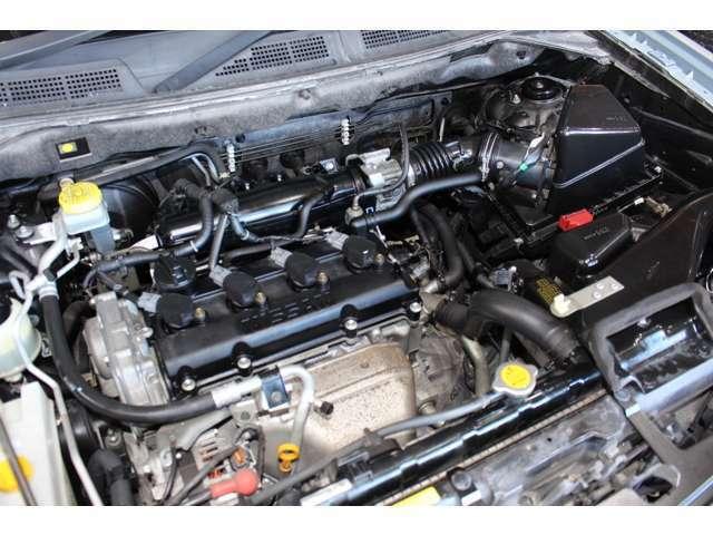 タイミングチェーン仕様のエンジンです。ご納車前には工場で点検をしてお渡し致します。