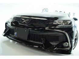 トヨタ マークX 2.5 250G Fパッケージ 新品RDSモデリスタ新品3眼ライト新車高調