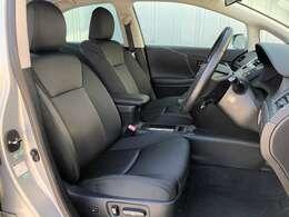 ●フロントシートは目立つキズや汚れなども少なくキレイな状態となっております♪