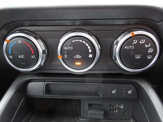 AUTOエアコンです!車内の温度調節も自動です☆☆