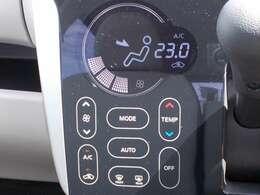 タッチパネル式のオートエアコンです。触れるだけで操作ができるので、スマートフォンを操作しているような感覚です☆インテリアとしてもおしゃれなエアコンです☆