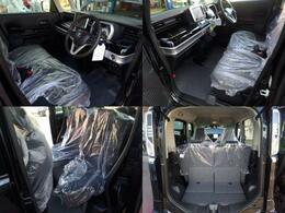 車内は後席も含めてゆったりと使える、広々設計となっております