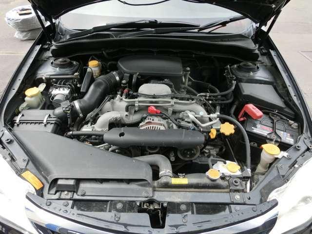 2.0L水平対向4気筒エンジン!タイミングベルトは納車前に交換いたします!