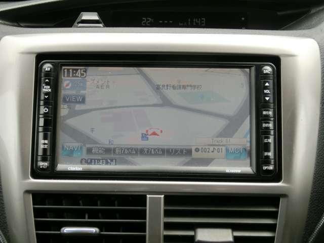 純正7インチワイドナビ HDD音楽の取り込みも可能です!
