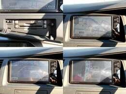 便利な純正7ワイドHDDナビ&ETC車載器付アイシス♪大きなボディには嬉しいバックカメラに地デジフルセグTV搭載!ロングドライブも渋滞時も退屈しません◎