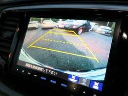 【バックカメラ】運転に不慣れな方でも安心して駐車できますね!