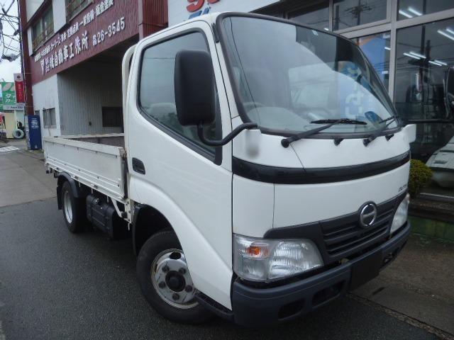 ワンオーナー車のデュトロ2トントラックが当社下取り車両として入庫致しました。