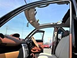 キャンバストップで開放感がありオープンでのドライブは気持ち良いですよ♪