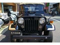 ジープ2.7ディーゼルターボ 4WD ノーマル0.9万km屋内保管 在庫