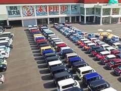 【高品質・低価格・展示台数常時600台】カミタケの強みは「関西最大級の展示者数」オールメーカー全車種を取り扱いしています!