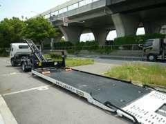 ■自社レッカー車を完備■不足の事態にも(故障やトラブル)対応できます!