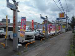 当店は新車販売・中古車販売・注文販売・板金塗装・車検・保険までお車の事ならトータルでサポートさせて頂くことができます☆
