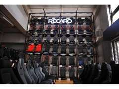 For RECARO seats, We have more than 300 over seats and rails in stock.