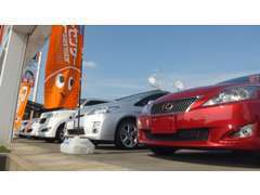 高年式・低走行・高品質車輌を中心に多数展示。在庫車は内外装キレイな走行1万km未満が中心となっております!
