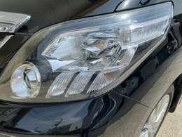 HIDヘッドライト!曇りなどもなくきれいな状態です!当社HP⇒https://www.garage104.co.jp/