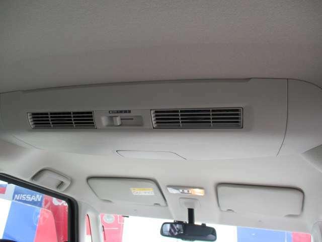 室内の温度を一定温度に循環させるサーキュレーター装備です。