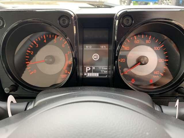 ☆メーター回り☆メーターには制限速度が出るので安全運転を支援してくれますよ♪