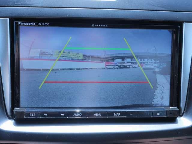バックカメラつきです!後ろの安全をサポートします。ただし目視も忘れずにですよ!