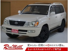 トヨタ ランドクルーザーシグナス 4.7 4WD 本州仕入/1ナンバー/5AT/新MTタイヤ