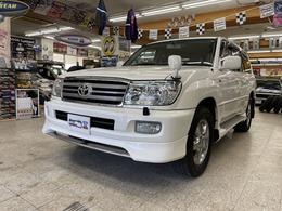 トヨタ ランドクルーザー100 4.2 VXリミテッド ディーゼルターボ 4WD 最終062パール 寒冷地 ナビBカメラ 夏冬AW