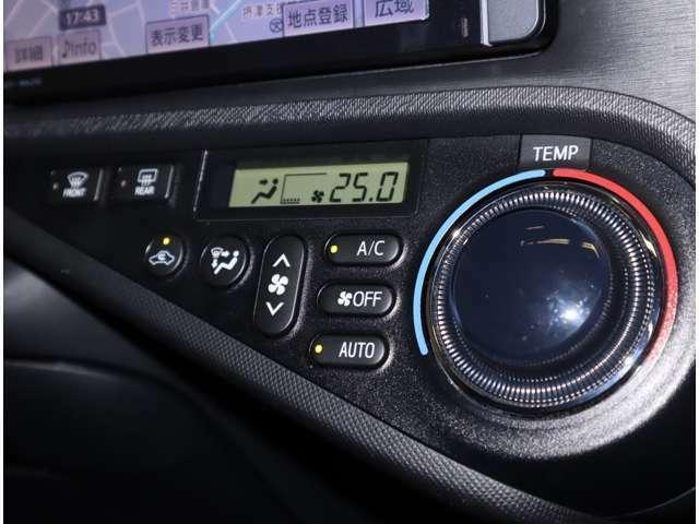 オートエアコンで一年中快適にドライブをお楽しみ頂けますよ(*^^)v