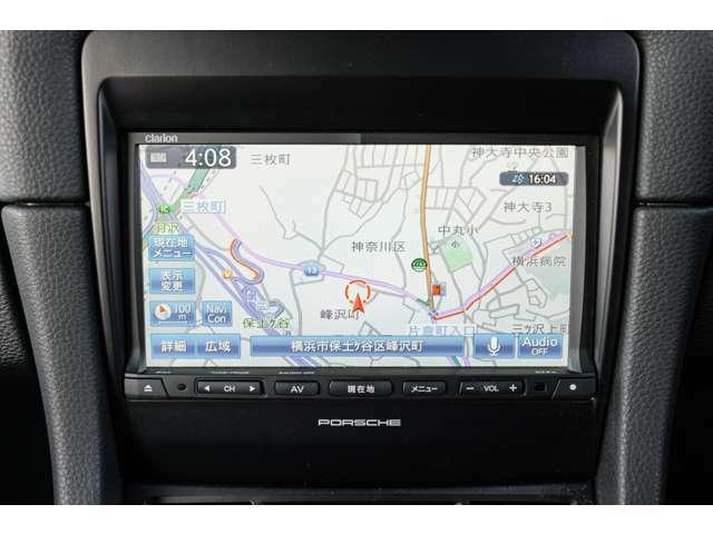 クラリオン製の純正SDナビゲーションシステムを搭載!地デジ(フルセグ)や音楽録音機能、Bluetoothオーディオに対応しておりますので、快適なドライブをサポートします!TEL045-348-3232