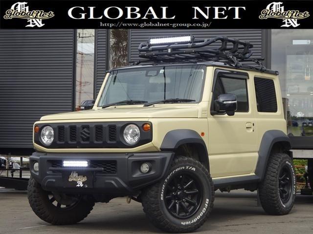 1オーナー・MT車・4WD・リフトアップ・BFホワイトレタータイヤ・2トーンカラー・ルーフキャリア・LEDライト・安全装備・SDナビ・TV・BT音楽・ETC・シートヒータ・USB・LEDヘッド/フォグ
