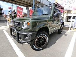 スズキ ジムニー 660 XL 4WD 5MTターボ4WD GガードRラックラダー