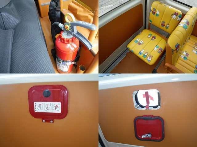 内装も綺麗です!幼児バスの内装は汚れているものが殆んどでクリーニングをしたとしても限界が有ります、このお車は目の行き届いたお車です♪