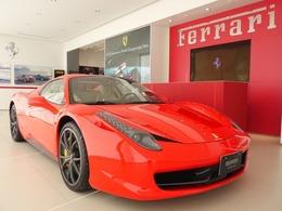フェラーリ 458スパイダー F1 DCT D車 20インチ鍛造ペイントホイール