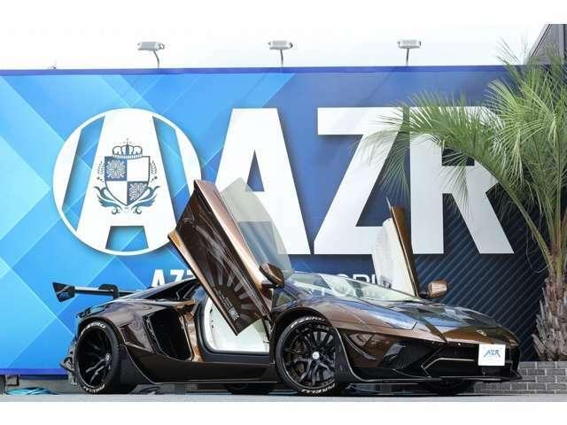 2012yモデル ランボルギーニアヴェンタドール LBリミテッドエデション(カーボンVer)NO7 FIエキゾーストマフラー SKYFORGED S209  内装カーボンパーツ車輛入庫!!