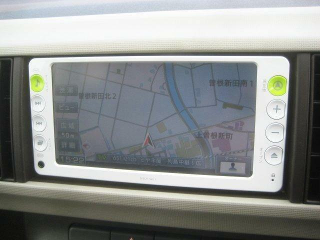 純正SDナビ・ワンセグTV・CD・SD・AUX