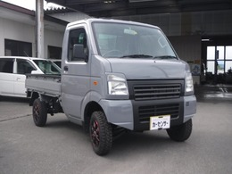 スズキ キャリイ 660 KCパワステ 農繁仕様 3方開 4WD 2インチリフトアップ マッドタイヤ 全塗装