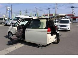 トヨタ ポルテ 1.5 X ウェルキャブ 助手席リフトアップシート車 Bタイプ 来店不要 全国販売 ライブ中継デモ